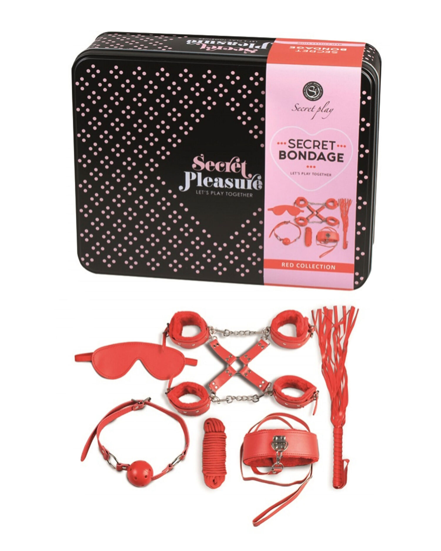 Secret Bondage Kit Red Collection