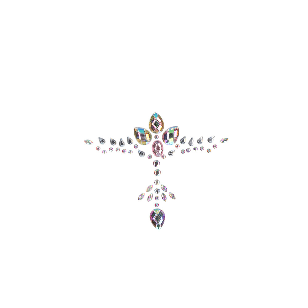 Le Desir Dazzling Cleavage Bling Sticker
