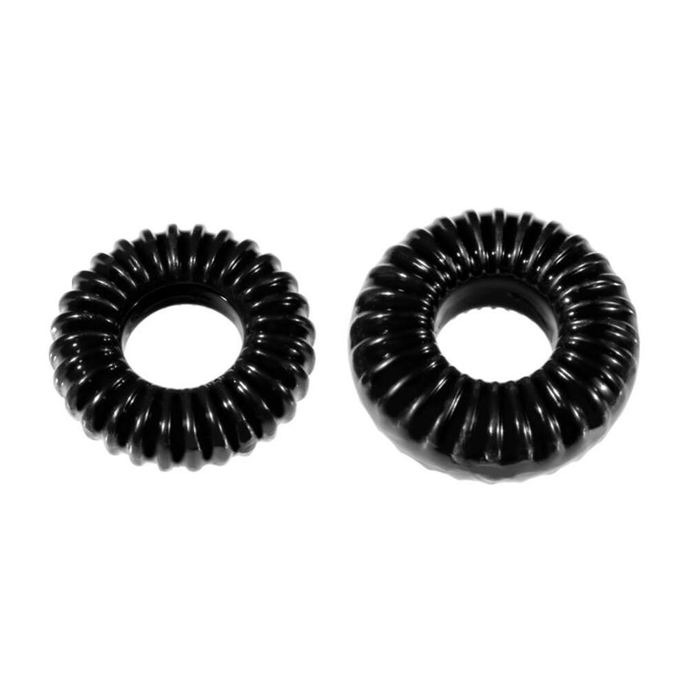 Perfect Fit XPlay Gear Ribbed Cock Rings Mixed Pack
