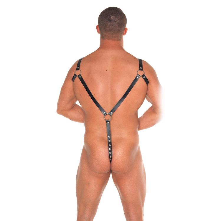 Leather Body Harness